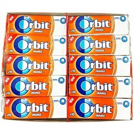 Guma Orbit Orange 30 szt x 14g