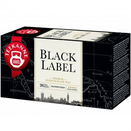 Teekanne Black Label herbata czarna 20 torebek