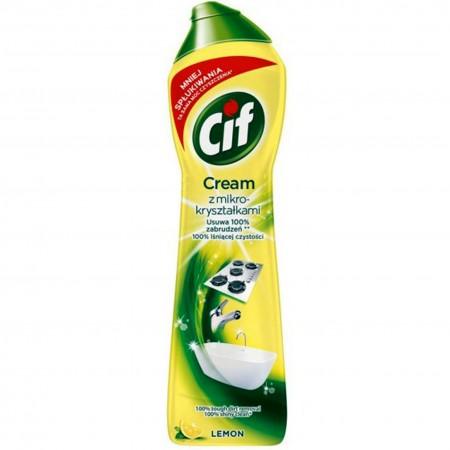 Cif Cream mleczko do czyszczenia Lemon 500ml