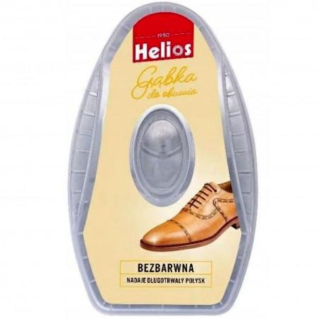 Helios gąbka do obuwia bezbarwna 6ml