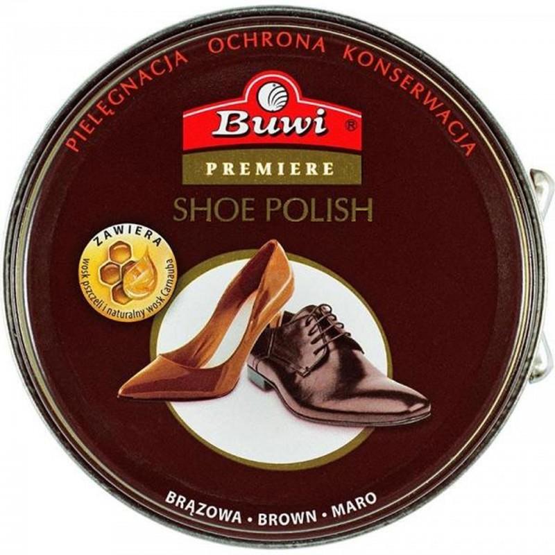 Buwi pasta do butów brązowa 40ml