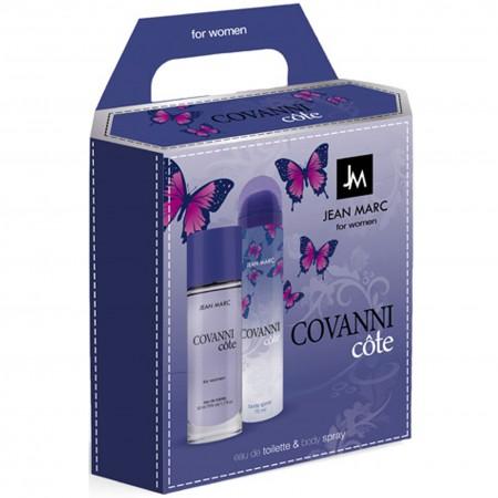 Zestaw Covanni Cote EDT 50ml + body spray 75ml