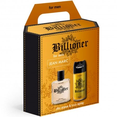 Zestaw Billioner woda po goleniu 100ml + dezodorant 150ml