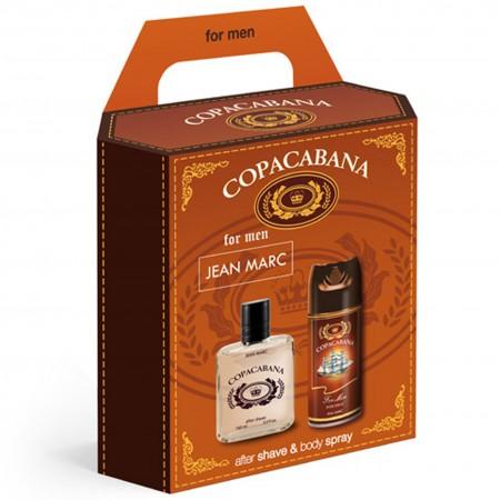 Zestaw  Copacabana woda po goleniu 100 ml + dezodorant 150 ml