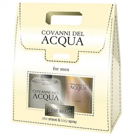 Zestaw Covanni del Acqua woda po goleniu 100 ml + dezodorant 150 ml
