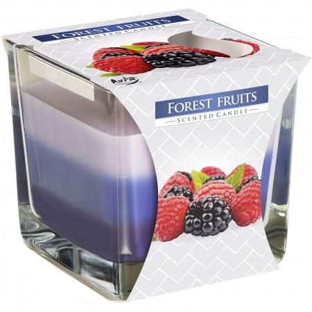 Świeca zapachowa Bispol Owoce Leśne w szkle