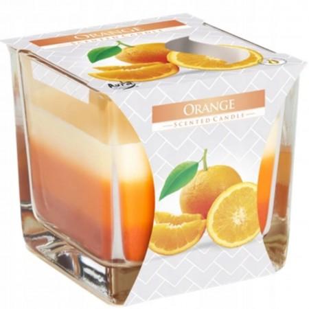Świeca zapachowa Bispol Pomarańcza w szkle